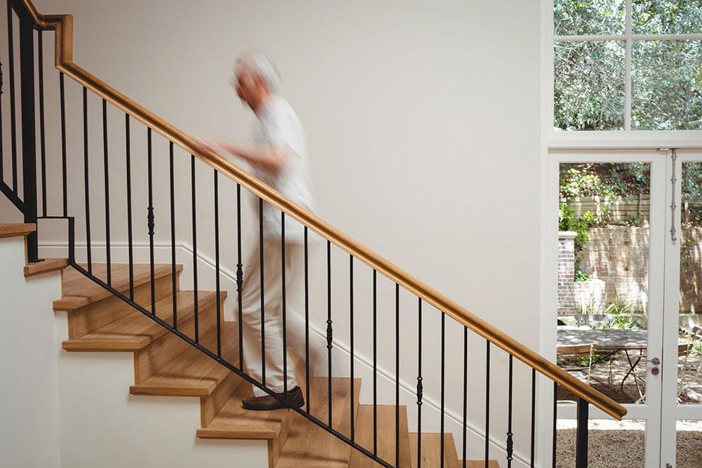 escalier perte autonomie